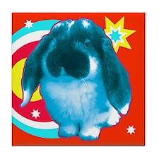 Pop Bunny Tile Coaster