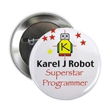 "Superstar Karel Programmer 2.25"" Button (10 pack)"