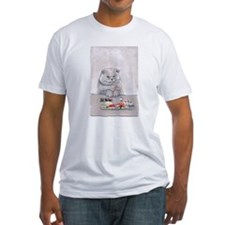 "Sushi Lover's Shirt- ""Sushi Cat- The Temptation"""