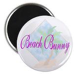 Beach Bunny Magnet