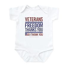 Cute Veterans Infant Bodysuit