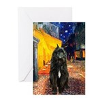 Cafe & Bouvier Greeting Cards (Pk of 10)