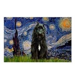 Starry Night Bouvier Postcards (Package of 8)
