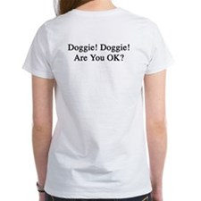 Women's Pet Tech Instructor T-Shirt w/ Doggie!