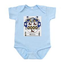 Warren Family Crest Infant Creeper