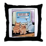Kitten Search Engine Throw Pillow