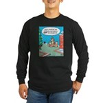 Cat Christmas Story Long Sleeve Dark T-Shirt