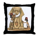 Shriners at work Throw Pillow