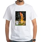 Midsummer's Eve Coton White T-Shirt