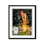 Midsummer's Eve Coton Framed Panel Print