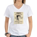 The Mad Hatter Women's V-Neck T-Shirt