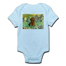 Irises & Dachshund Infant Bodysuit