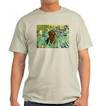 Irises & Dachshund Light T-Shirt