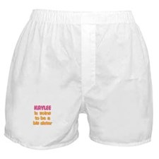Kaylee - Going to be Big Sist Boxer Shorts