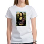 Mona / Dachshund (wire) Women's T-Shirt