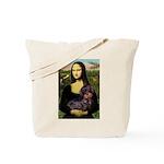 Mona / Dachshund (wire) Tote Bag