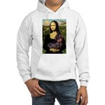 Mona / Dachshund (wire) Hooded Sweatshirt