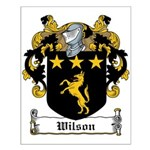 Wilson Family Crest Small Poster