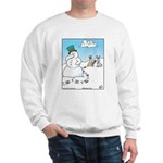 Snowman's Carrot Nose Sweatshirt