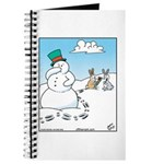 Snowman's Carrot Nose Journal