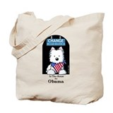 In The HOUSE For OBAMA Tote Bag