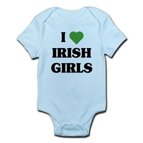I Love Irish Girls Infant Bodysuit