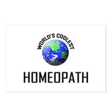 World's Coolest HOMEOPATH Postcards (Package of 8)
