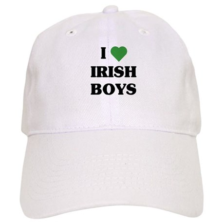 I Love Irish Boys Cap