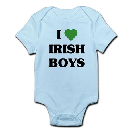 I Love Irish Boys Infant Bodysuit