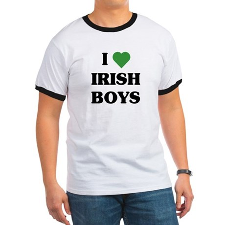 I Love Irish Boys Ringer T