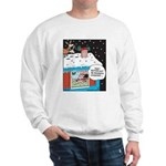 Santa Reindeer Laughter Sweatshirt