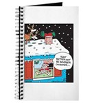 Santa Reindeer Laughter Journal