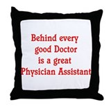 PA Throw Pillow