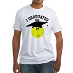 I Graduated 2005 Fitted T-Shirt