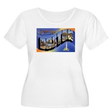 Boston Massachusetts Greetings T-Shirt