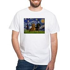 Starry Night Doxie Pair Shirt