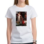 Princess & Doxie Pair Women's T-Shirt