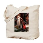 Princess & Doxie Pair Tote Bag