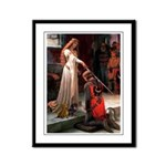 Princess & Doxie Pair Framed Panel Print