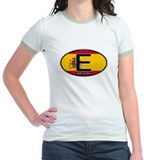 Spain Colors Oval T
