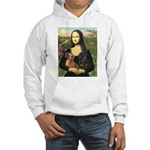 Mona Lisa's Dachshunds Hooded Sweatshirt