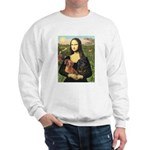 Mona Lisa's Dachshunds Sweatshirt