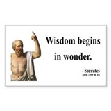 Socrates 2 Rectangle Decal