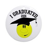 College Grad Keepsake (Round)