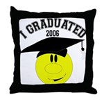 College Grad Throw Pillow