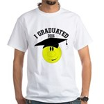 College Grad White T-Shirt