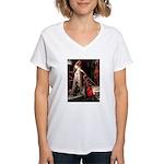 Accolade / Dobie Women's V-Neck T-Shirt