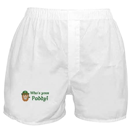 Who's Your Paddy Boxer Shorts