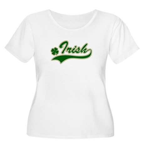 Irish Women's Plus Size Scoop Neck T-Shirt