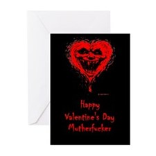 Happy Valentine's Day Mutherfucker Cards(10 Pk) Gr